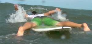 bad paddling