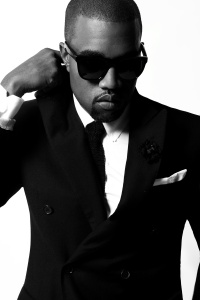 Kanye west looking sharp